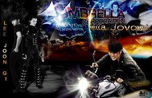 Lee Jun Ki / Lee Joon Gi / Milla Jovovich - Resident Evil