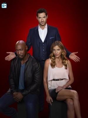 Lucifer - Season 2 - Cast Promotional foto