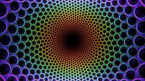 Illusions wallpaper entitled Magic Craters Wallpaper