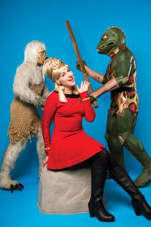 Mayim ~ bintang Trek Cosplay ~ Janice Rand