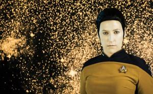 Mayim ~ bintang Trek Cosplay ~ Mr. Data