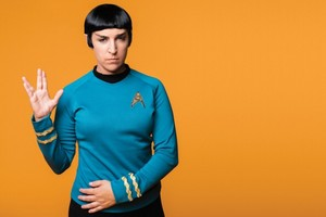 Mayim ~ bintang Trek Cosplay ~ Mr. Spock