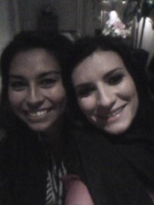 Mi primera foto con Laura Pausini