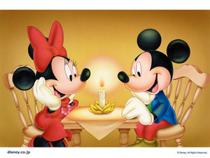 Mickey and Minnie wolpeyper mickey and minnie 6227602 500 375