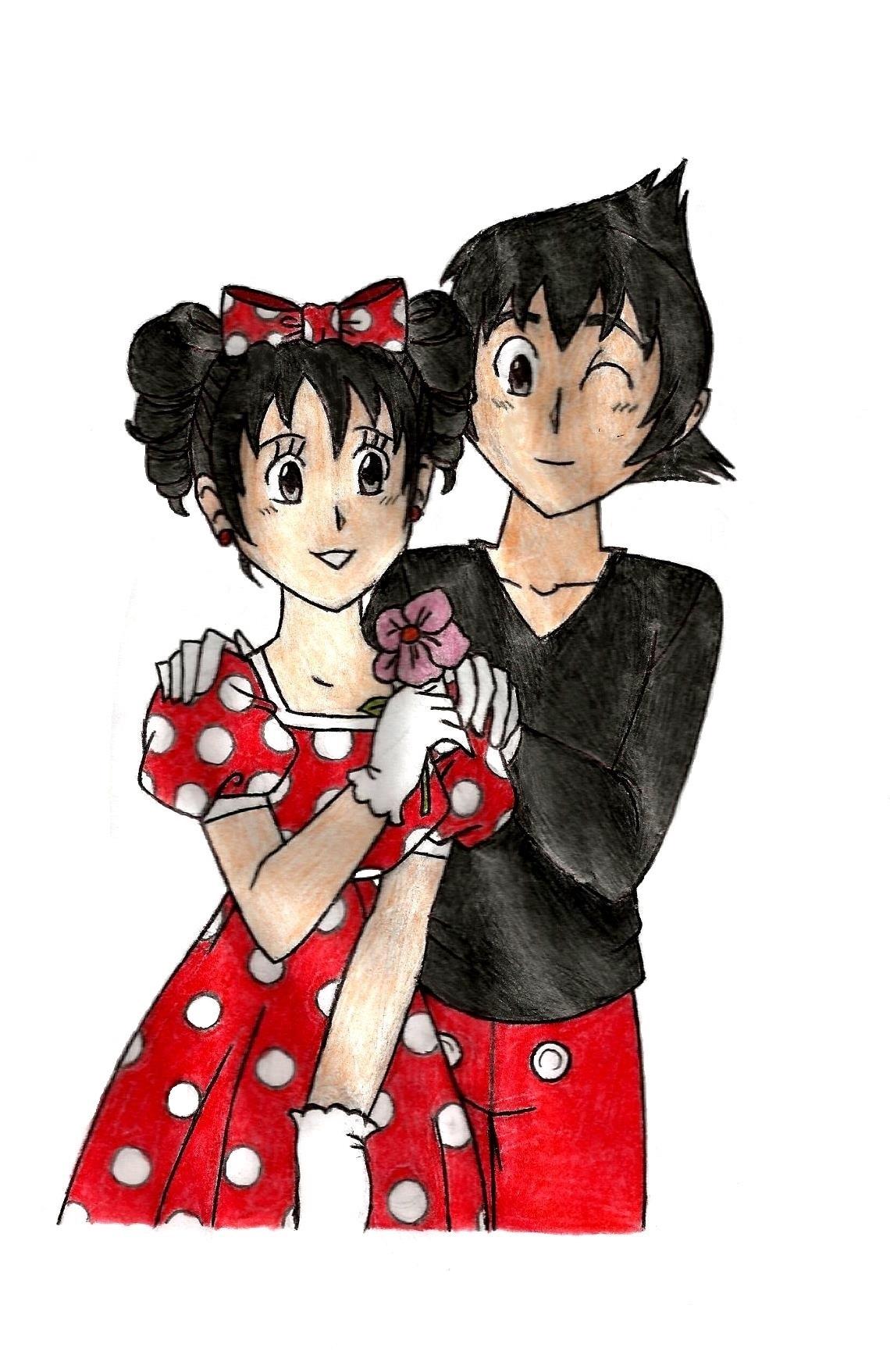 Mickey x Minnie