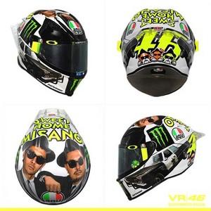 Misano 2016 helmet