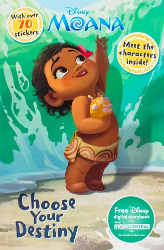 Disney's Moana Hintergrund possibly containing Anime called Moana Book Cover