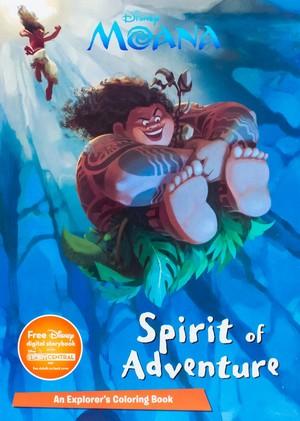 Moana Book Cover