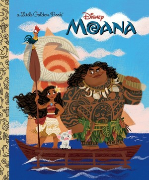 Moana Book Cover