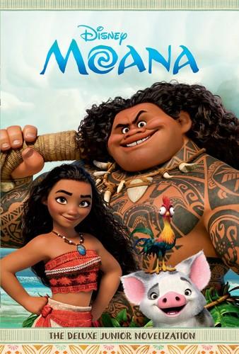 Disney's Moana Hintergrund called Moana Book Cover