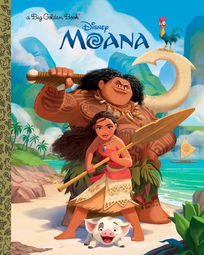 Disney's Moana Hintergrund entitled Moana Book Cover