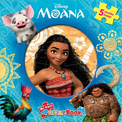 Disney's Moana Hintergrund called Moana French Book Cover