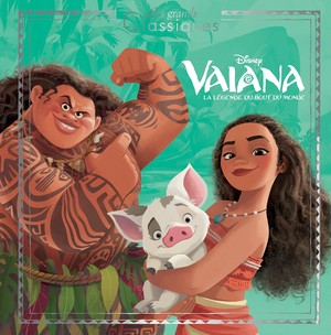 Moana French Book Cover