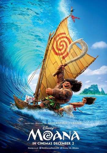 Disney's Moana Hintergrund possibly containing a dugout kanu called Moana Intenational Posters
