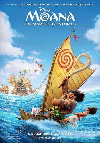 Disney's Moana Hintergrund called Moana Intenational Posters