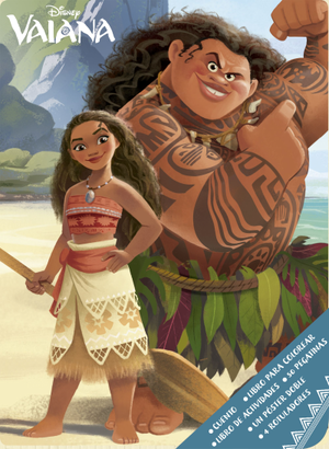 Moana Spanish Book Cover