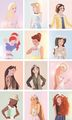 Modern Fashion Princesses - disney-princess photo