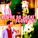 Monica and Chandler - friends icon