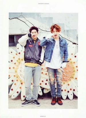 cute wonho/jooheon💋 ❤