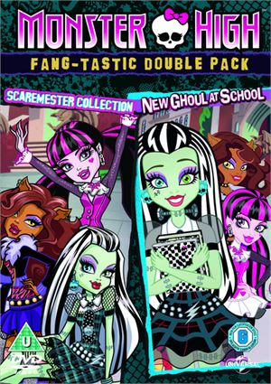 Monster High: Fang-Tastic Double Pack (DVD)