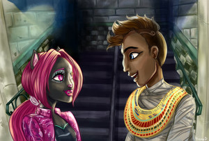 "Monster High ""Music Power"" Couple"