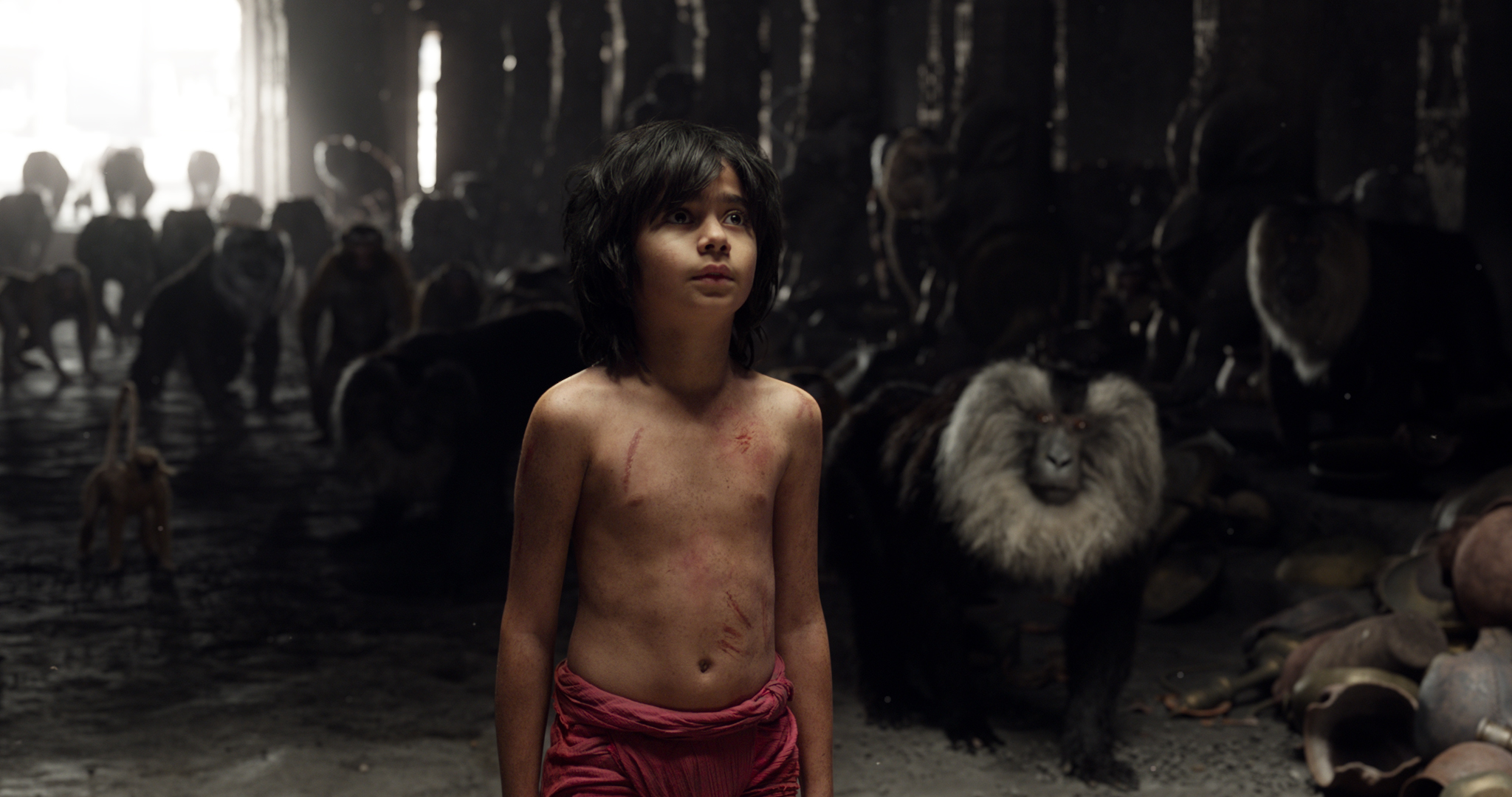 Mowgli in the Cold Lairs