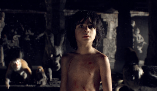 The Jungle Book wallpaper with skin titled Mowgli in the Cold Lairs