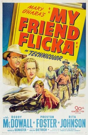 My Friend Flicka (1943) Poster