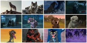 My puncak, atas Twelve serigala in film