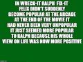 My Wreck-It Ralph Headcanon - disney photo