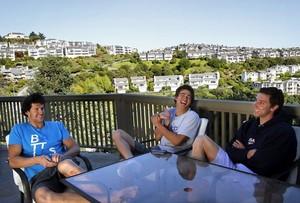 Nathan Adrian & His Roommates