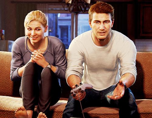 Nathan and Elena