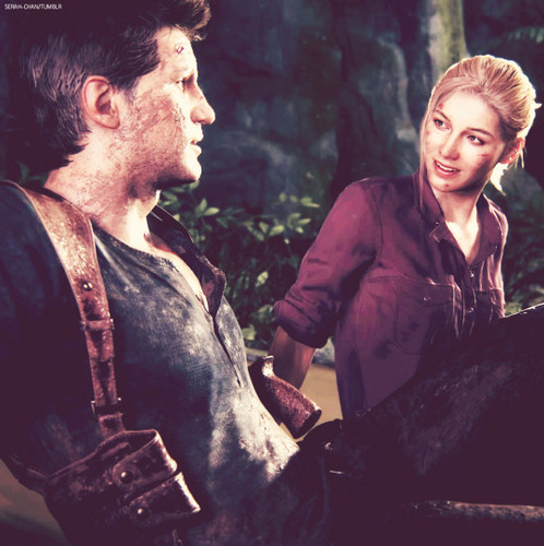 Uncharted 4 A Thiefs End Wallpaper Titled Nathan And Elena