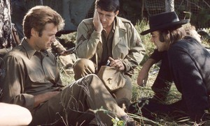 On the set of Kelly's Heroes (1970)