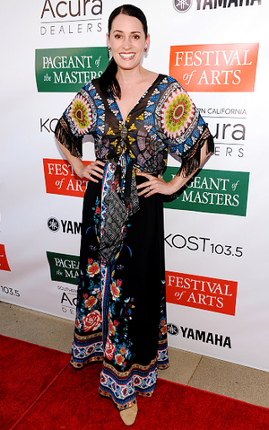 Paget at the Festival of Arts Celebrity Benefit концерт and Pageant in Laguna Beach, 2016
