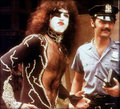 Paul (NYC) June 24, 1976 - kiss photo
