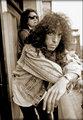 Paul and Gene 1989 - kiss photo