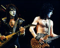 Paul and Vinnie 1983 (Creatures of the Night)   - kiss photo