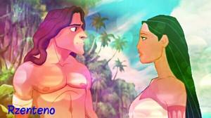 Pocahontas And Tarzan