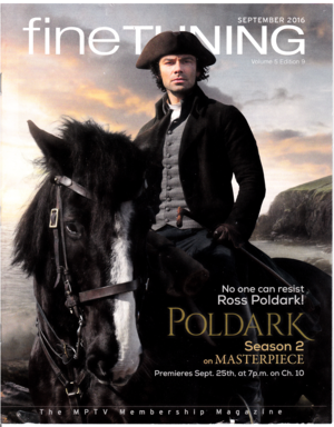 Poldark (Fine Tuning - Sept. 2016 cover)