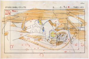 Porco Rosso animatie Blueprint Layouts