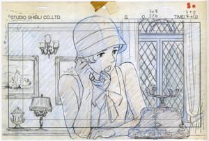 Porco Rosso অ্যানিমেশন Blueprint Layouts