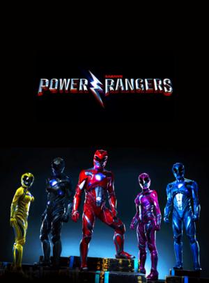 Power Rangers (2017) Fan Poster