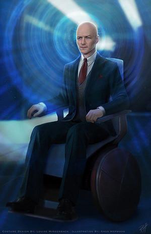 Professor Charles Xavier - Concept Art