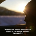 Proverbs 21:8 - christianity photo