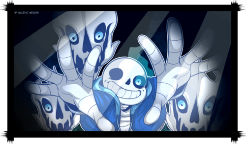 Sans (Undertale) fond d'écran probably containing animé titled RBq2pg