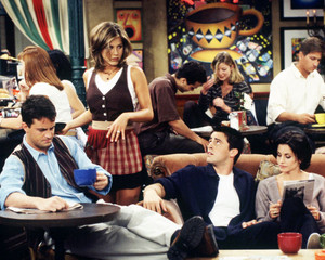 Rachel, Chandler, Joey and Monica