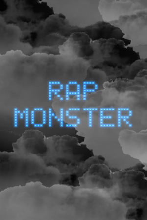 Rap Monster kertas dinding