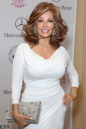 Raquel Welch Carousel Hope Ball 2014