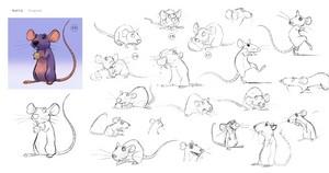 rat Character design